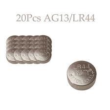 20 x NEW 1.5V LR44 A76 L1154 AG13 357 SR44 303 Button Cell Battery