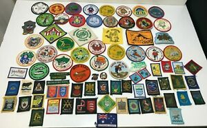 50+ Vintage Scouts, Girl Guides & Beavers Badges And Patches 1970's - 1990's