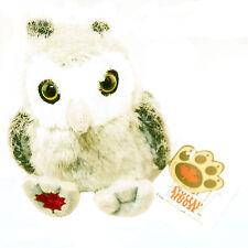 "Stuffed Animal House 4.5"" Gray Owl Maplefoot Babies Plush Bird Audubon Chick NWT"