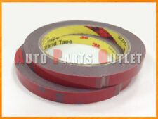 Two Rolls - 3M Acrylic Foam Adhesive Automotive & Industrial Double Sided Tape