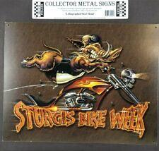 Sturgis Bike Week Tin Metal Sign No Tomorrow Motorcycle NEW