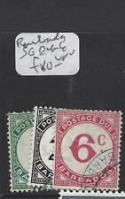 BARBADOS  (P2706B)  POSTAGE DUE SG  D 4-6   VFU