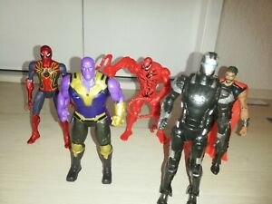 Spielfiguren Spiderman etc