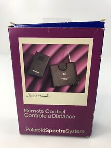 New ListingPolaroid Spectra System Remote Control 7030 Receiver & 7020 Transmitter + Case