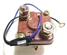 Universal Starter Relay Solenoid Switch 2 Wire, 2 Terminal, for Lawnmower