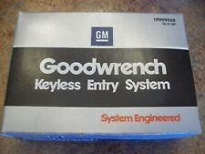 1970 1980 GM Keyless Entry System NOS 999558 with remote RARE
