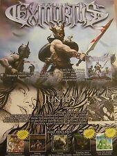 Exmortus, Junius, Full Page Promotional Ad