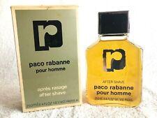 VINTAGE FRANCE PACO RABANNE POUR HOMME AFTER SHAVE 250 ml 8.4 oz