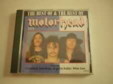 CD Motorhead Live The Best of & the Best of
