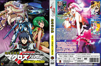 ANIME DVD Macross Frontier (1-25End+2Movie)Eng sub&All region FREE SHIPPING L6