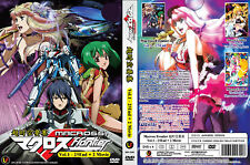 ANIME DVD~Macross Frontier(1-25End+2Movie)Eng sub&All region FREE SHIPPING+GIFT
