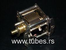 Philips air variable capacitor - 160 pF ball bearing High Quality - Hf Vfo