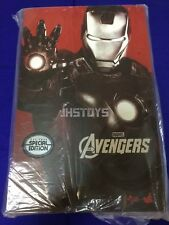 Hot Toys 1/6 The Avengers Iron Man Mark 7 MK VII Exclusive Special MMS185