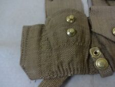 WWI P08 Ammo Pouch Set / 1908 1st Pattern Ammo Pouches - Reproduction (Pair) sv5
