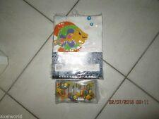 Saturday Knight Ltd. Ocean Splash 1Pc Fabric Shower Curtain 12Pc Fish Hooks Nip