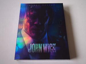 John Wick 2 NOVAMEDIA Exclusive Blu-ray Steelbook | Fullslip NOVA MEDIA LIKE NEW