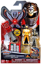 Power Rangers Mighty Morphin Super Megaforce Key Pack MMPR White Yellow Red