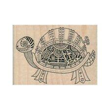 NEW Steampunk Turtle RUBBER STAMP, Turtle Stamp, Tortoise Stamp, Animal Stamp