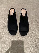 Peep Toe Heels Size 5 Black