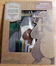 Seedling Disney Jungle Book Design Your Own Bear Mask + Paws Craft Kit