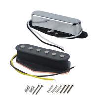 NEW Tele Electric Guitar Pickup Set Alnico 5 Neck & Bridge Pickups Single Coil