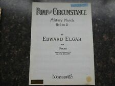 Pomp and circumstance Military March No.1in D by Elgar for piano