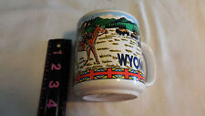Vintage Coffee Mug Wyoming Indian Wrap Mug
