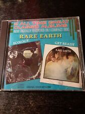 """Rare Earth """"Ecology /Get Ready""""  CD, Motown  2 Albums On 1 CD, 1986"""