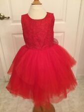 Disney Tutu Costume Red Dress Size 5 *NWT*