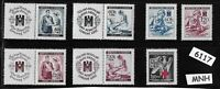 #6117     MNH Third Reich set / Nurses &  Red cross / WWII  Occupation 1940-1943