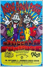"INSANE CLOWN POSSE ""JUGGALO FUNHOUSE"" DENVER CONCERT TOUR POSTER - Cartoon Faces"