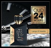 NEW ORIGINAL OUD 24 HOURS BY ZAAFARAN MUSK AMBER 100ML WITH FREE GIFT FROM U.A.E