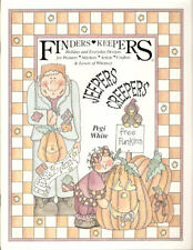 Finders Keepers Jeepers Creepers Pegi White Painting Pattern Book NEW