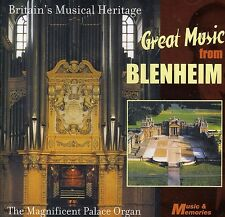 GREAT MUSIC FROM BLENHEIM ~ BRAND NEW SEALED CD THE MAGNIFICENT PALACE ORGAN
