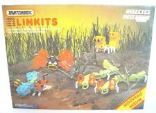 Matchbox England LINKITS SPACE INSECTS Plastic Construction System Kit MIB`83!