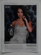 2014 Print Ad Hornitos Tequila ~ Making Spirits Bright Sexy Girl Sparkle Dress