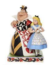 Jim Shore Disney Figurine Alice & Queen of Hearts Disney Traditions Brand New