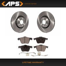 KT141841 Max Brakes Front Premium Brake Kit OE Series Rotors + Ceramic Pads Fits: 2003 03 2004 04 2005 05 Volvo XC90 w//12.44 Front Rotors