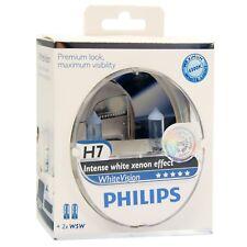 PHILIPS WHITE VISION H7 55W GLÜHLAMPEN 2-ER SET + 100% MEHR LICHT 31653786