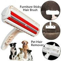 Pet Hair Remover Clothes Lint Cleaning Brush Reusable Dog Cat Fur Roller