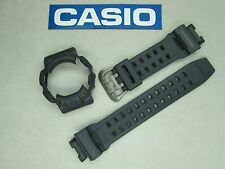 Genuine Casio G-Shock Gulfman GR-9110GY watch band & bezel grey titanium buckle
