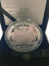 2013 Christening of Prince George of Cambridge £5 Silver Proof Coin.