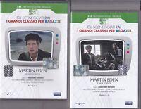2 Dvd Sceneggiati Rai **MARTIN EDEN** di Jack London V.Mezzogiorno completa 1979