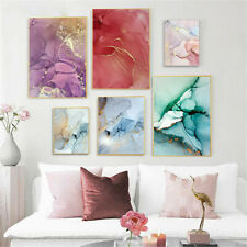 Marble Texture Canvas Poster Abstract Nordic Wall Art Print Modern Home Decor