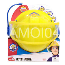 Fireman Sam Helmet with Visor & Microphone, Boys Costume Size 48-53cm New
