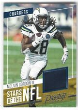 Melvin Gordon 19 Prestige Stars Of The Nfl Jersey Chargers Wisconsin Badgers V2