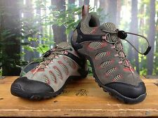 MERRELL MENS UK 7 EU 41 BROWN RED SUEDE VETIS VENT HIKING SHOES RRP £85