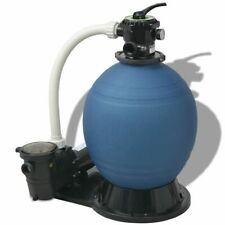 Sand Filter with Pool Pump 22 inch 1.5 Hp 5280 Gph