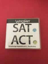 WordSmart Sat/Act Test Prep (8 discs) Windows Apple Mac Software