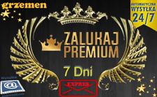 ZALUKAJ TV kod Premium 7dni ** Automat** NAJSZYBSZA WYSYŁKA